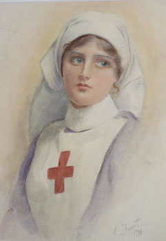 English Red Cross Nurse