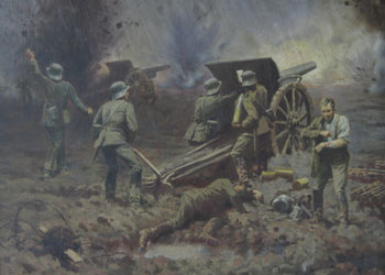 Artellerieschlacht bei Verdun (Artillery Battle at Verdun)