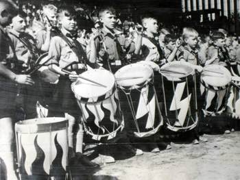 Hitler Youth drummers